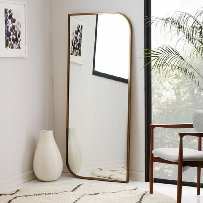 40 exemples de d coration avec un miroir original - Miroir ovale sur pied ...