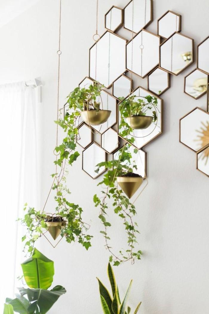 miroir-original-miroirs-muraux-hexagonaux-miroir-decoratif