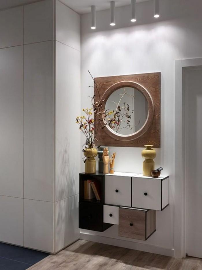 40 exemples de d coration avec un miroir original. Black Bedroom Furniture Sets. Home Design Ideas