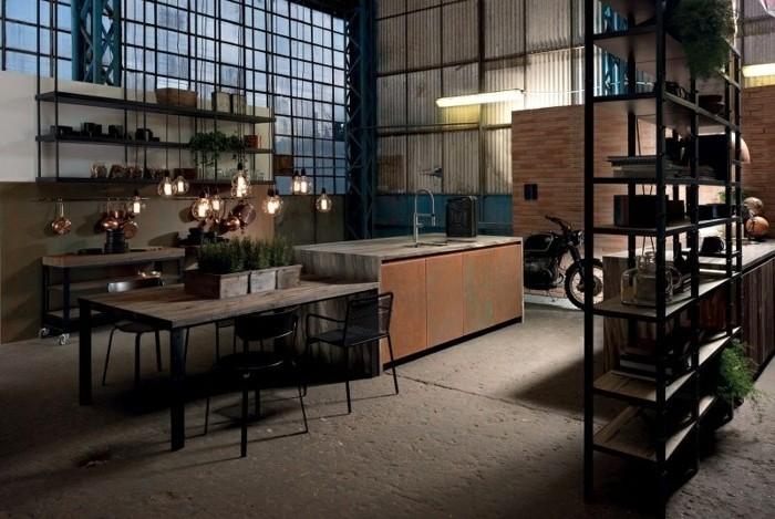 modele-de-cuisine-industrielle-qui-ressemble-a-une-vieille-usine-abandonnee-sol-en-beton-brut-meubles-industriels-uses-un-mur-en-briques-suggestion-magnifique-pour-votre-cuisine