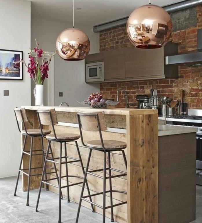cuisine style industriel bois cuisine industrielle l l gance brute en p os exceptionnelles - Cuisine Industriel Vintage