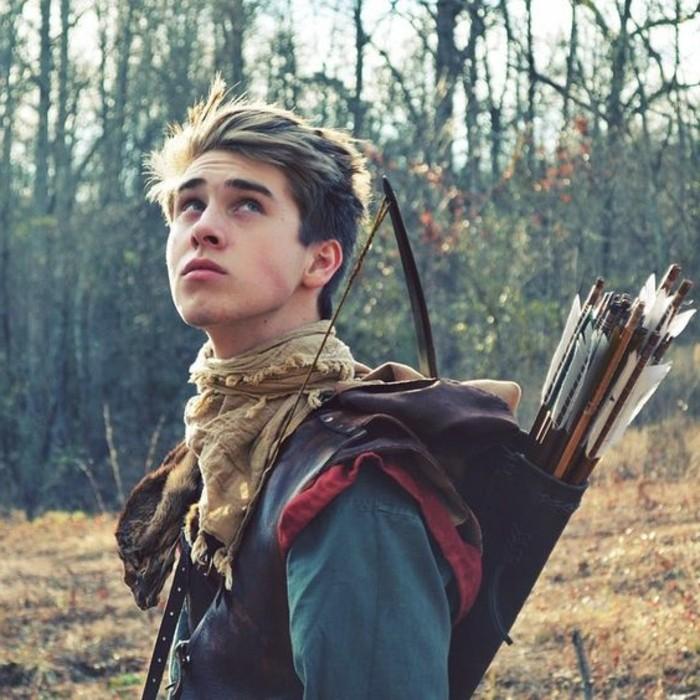 personnage-archer-modele-arc-medieval-simple-a-fabriquer-image-de-l-arc
