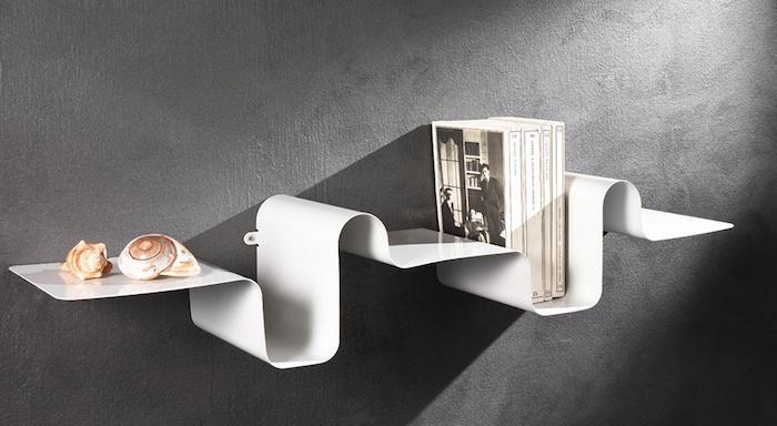 petite-etagere-blanche-metallique-design-ondulee