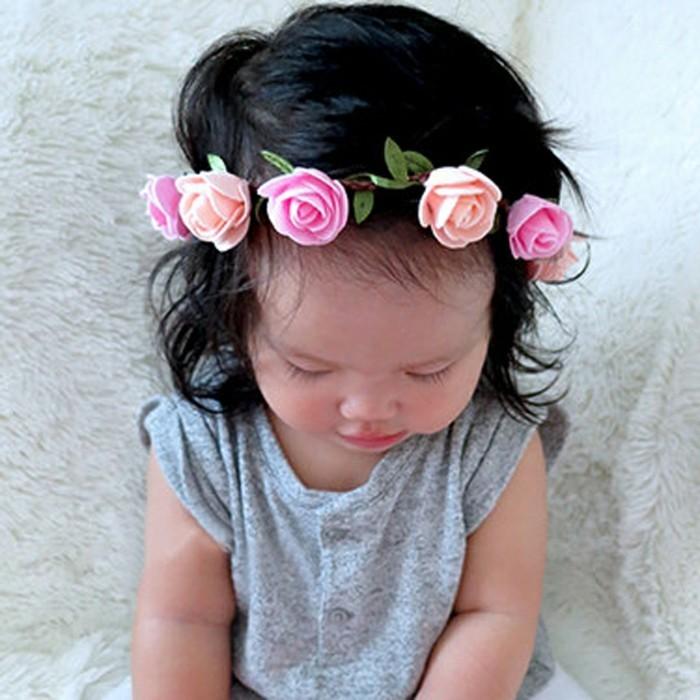 Coiffure de bapteme pour bebe fille
