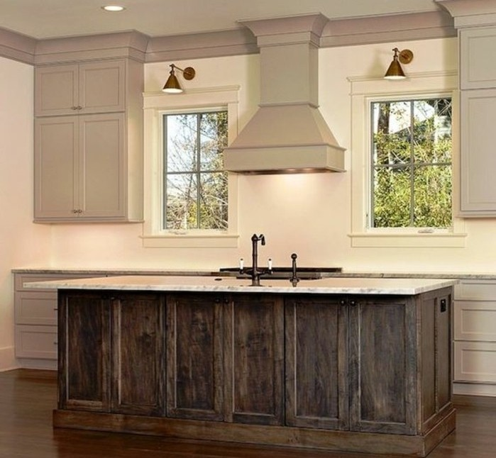 cuisine taupe 51 suggestions charmantes et tr s tendance. Black Bedroom Furniture Sets. Home Design Ideas