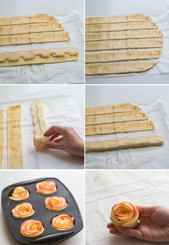 pommes-au-four-avec-bandes-de-pate-desserts-originaux