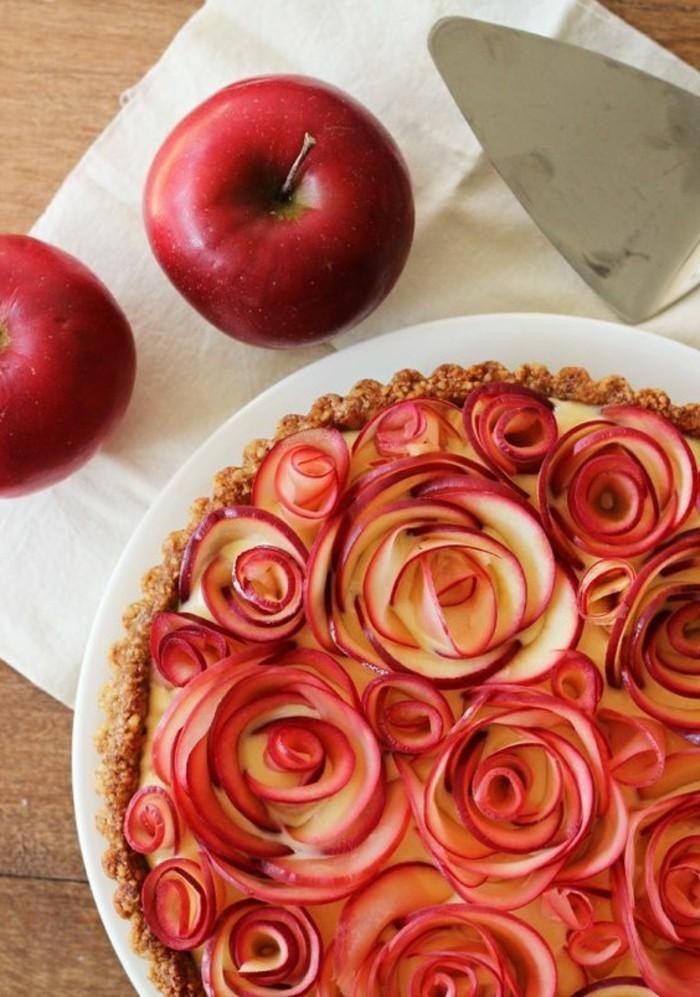 pommes-au-four-tarte-de-roses-de-pommes-cuites