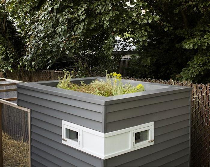Poulailler design 50 photos et conseils pour le choisir for Petit jardin sympa