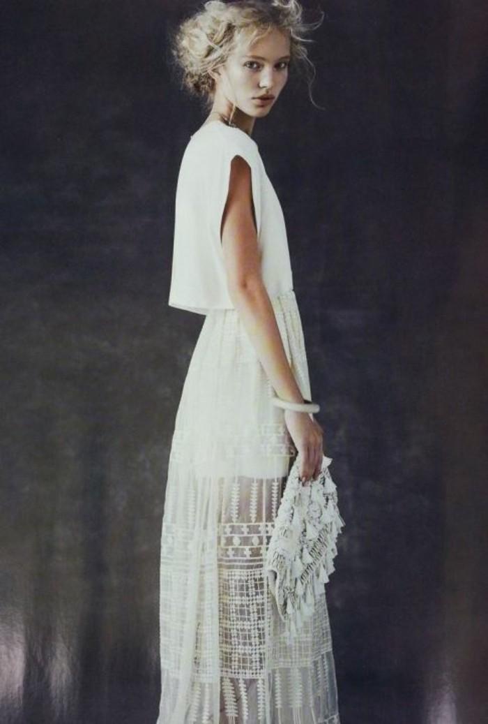 quelle robe pour un mariage boheme chic robe classique site blog photo. Black Bedroom Furniture Sets. Home Design Ideas