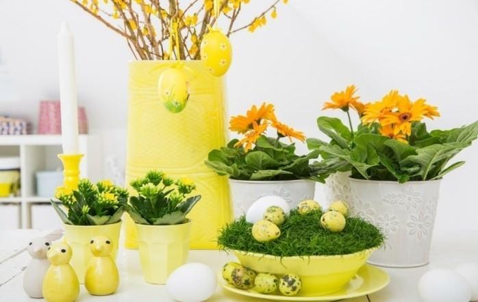 ravissante-idee-deco-paques-plantes-vertes-arbre-de-paques-magnifique