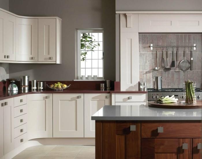 Repeindre sa cuisine en gris awesome comment peindre le - Repeindre sa cuisine en gris ...