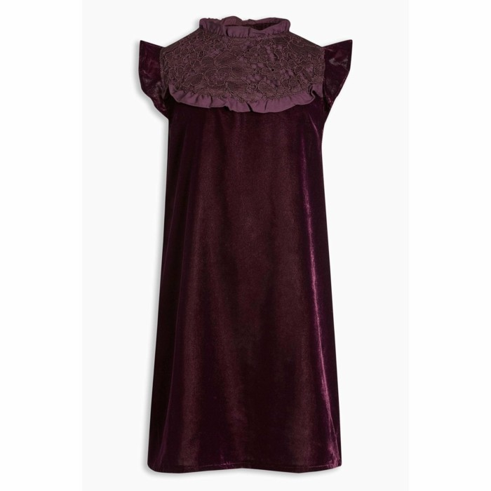 robe-de-fete-fille-3-suisses-couleur-bordeau-en-velours-avec-empiecement-en-dentelle-resized
