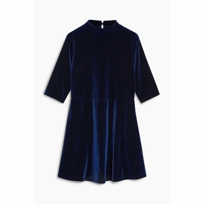 robe-de-fete-fille-3-suisses-en-velours-bleu-marine-resized