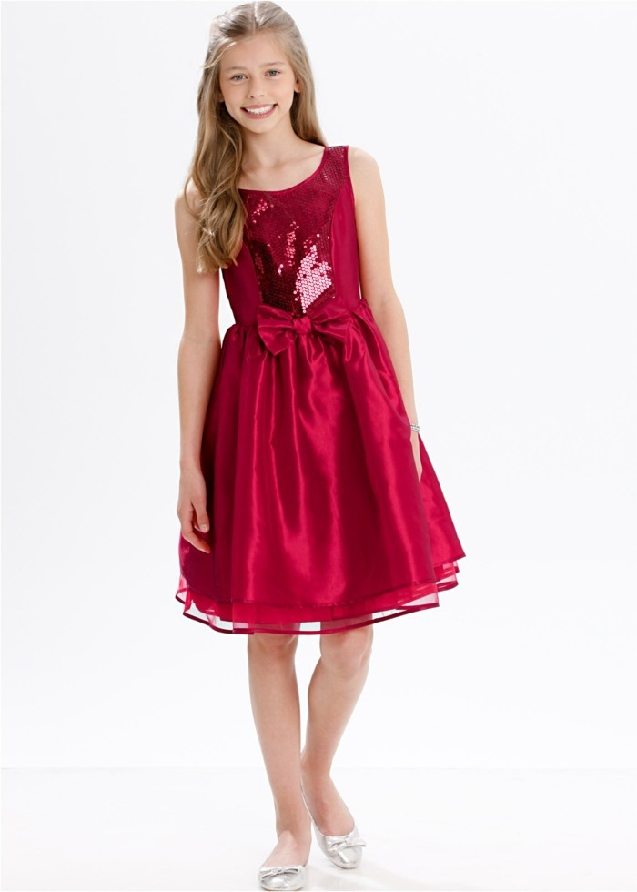 robe-de-fete-fille-bonprix-couleur-rouge-pailletee-resized