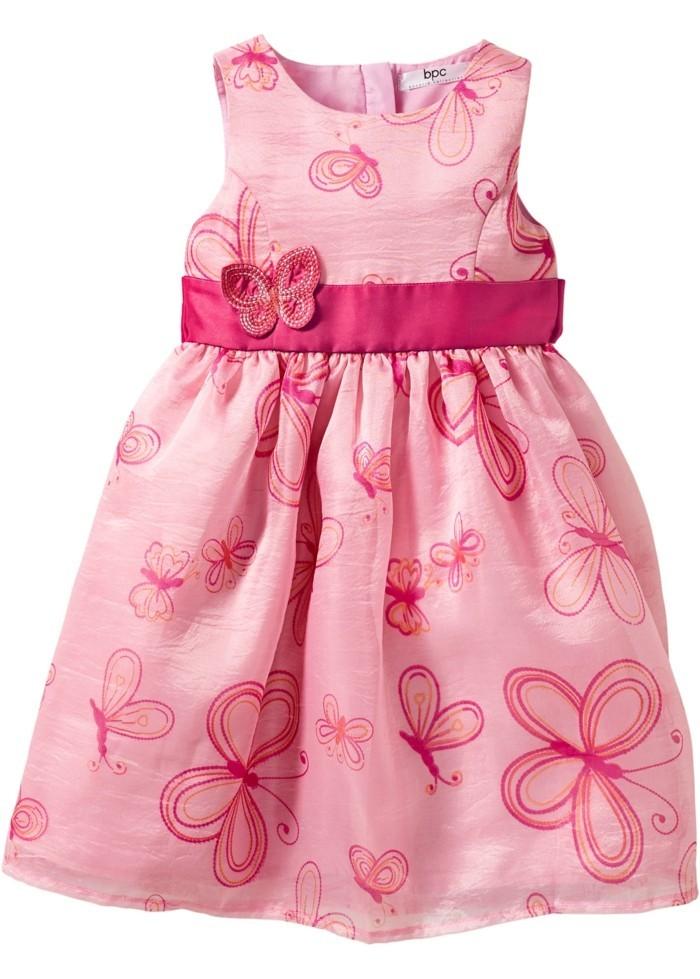 robe-de-fete-fille-bonprix-en-rose-aux-papillons-resized