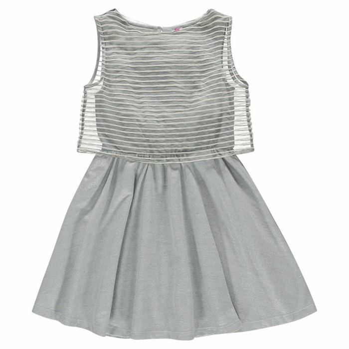 robe-de-fete-fille-orchestra-en-gris-et-partie-haute-aux-rayures-transparentes-resized
