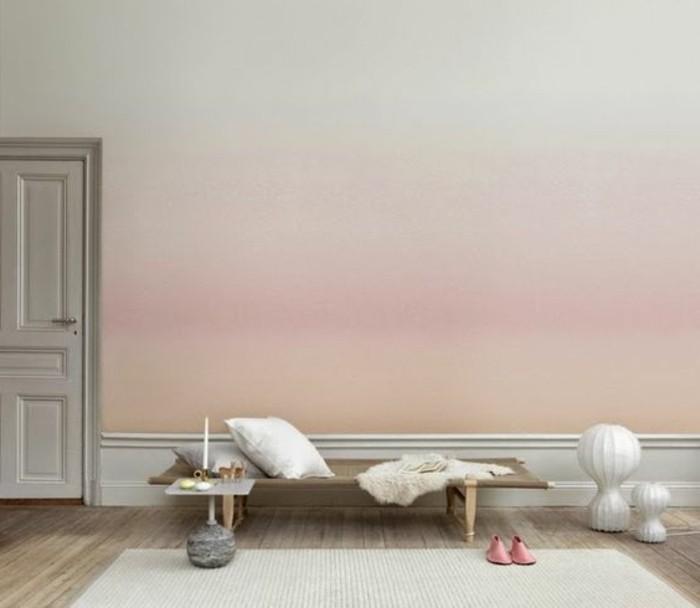 salon-mur-couleur-ombre-tapis-beige-mur-ombre-rose-beige-accessoire-blanc