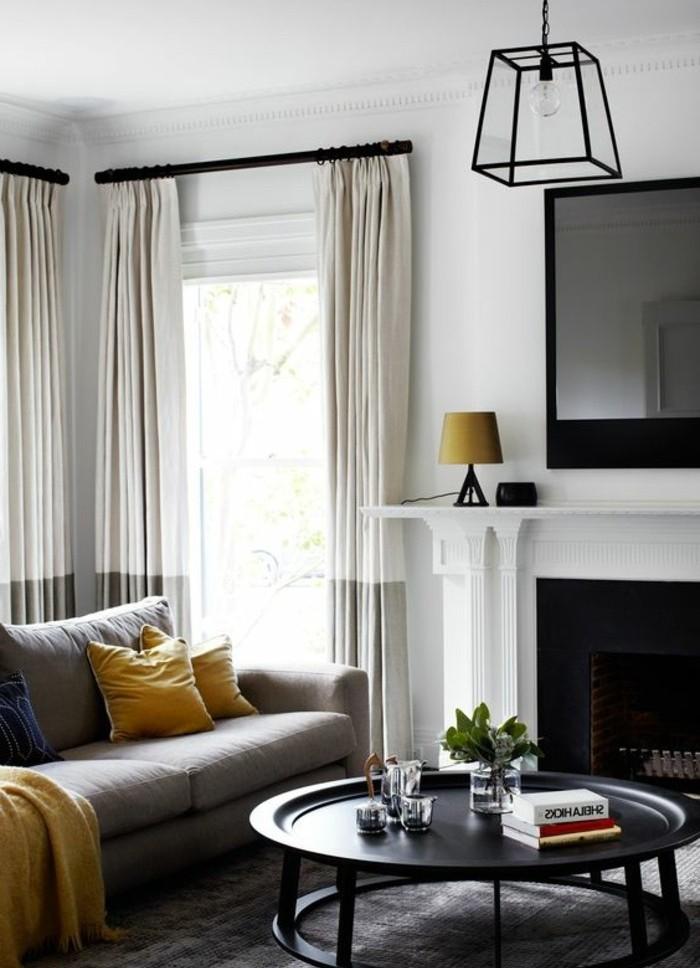 super-idee-salon-gris-et-blanc-tres-moderne-petites-touches-jaunes