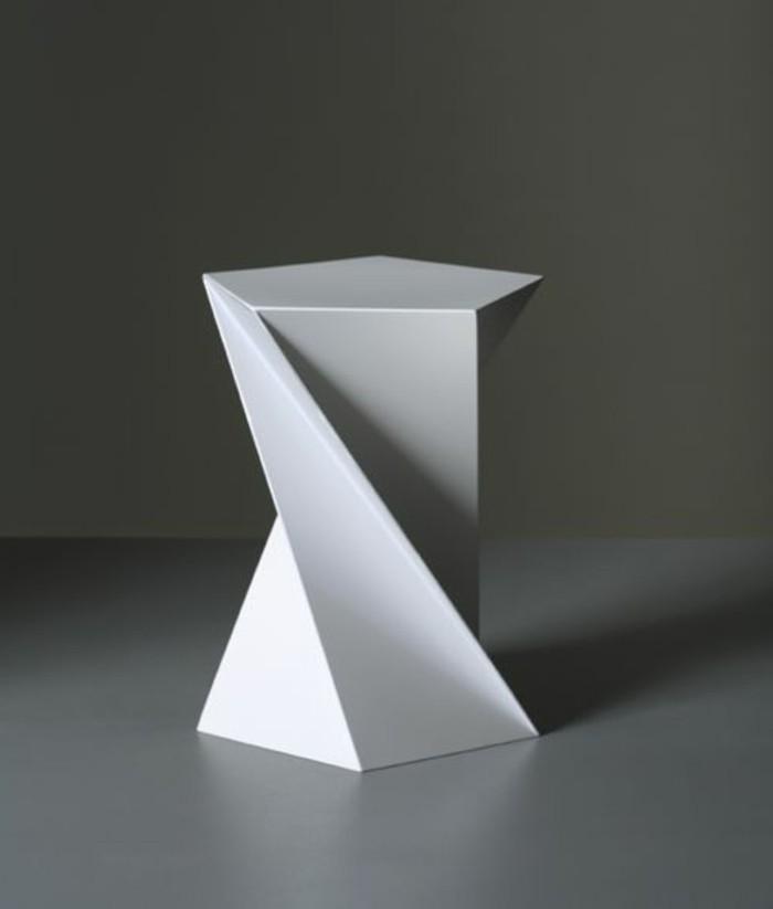 tabourets-de-bar-blanc-plastic-geometrie