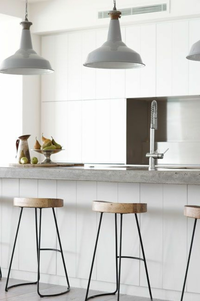 tabourets-de-bar-cuisine-moderne-simple
