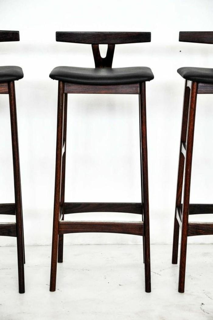 tabourets-de-bar-noir-chaise-haute-metal