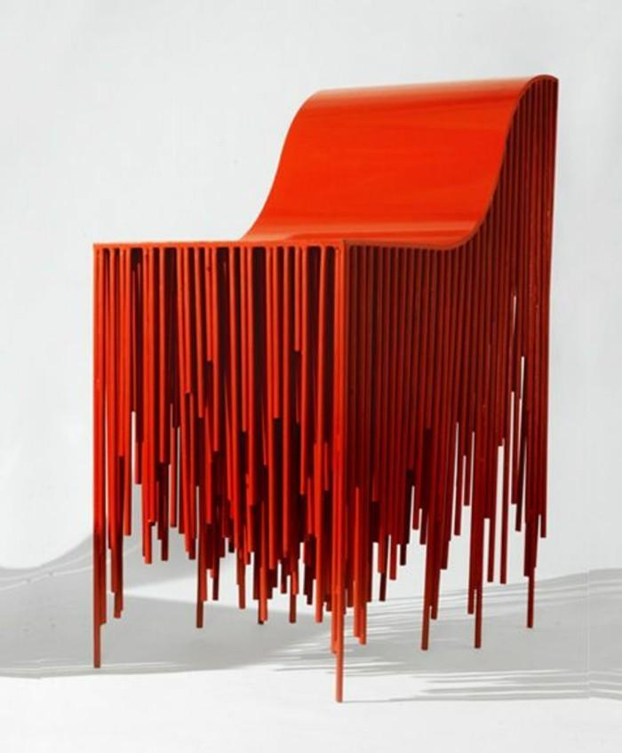 tabourets-de-bar-rouge-moderne