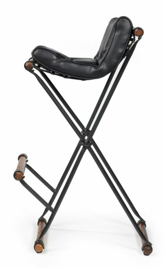 tabourets-de-bar-simple-style-cadre-acier