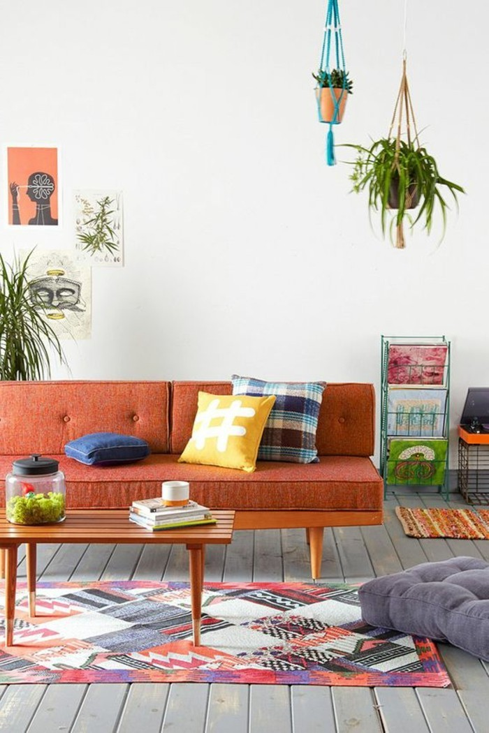 tapis-modernes-piece-interessante-tapis-multicolor