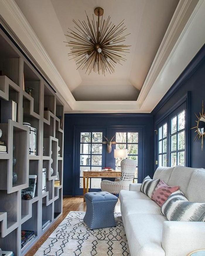 tapis-modernes-piece-moderne-lustre-chic-et-contemporain