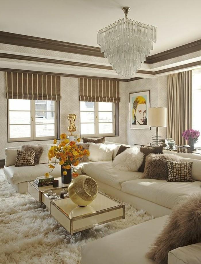 les tapis modernes 45 id es int ressantes pour d corer vos pi ces. Black Bedroom Furniture Sets. Home Design Ideas