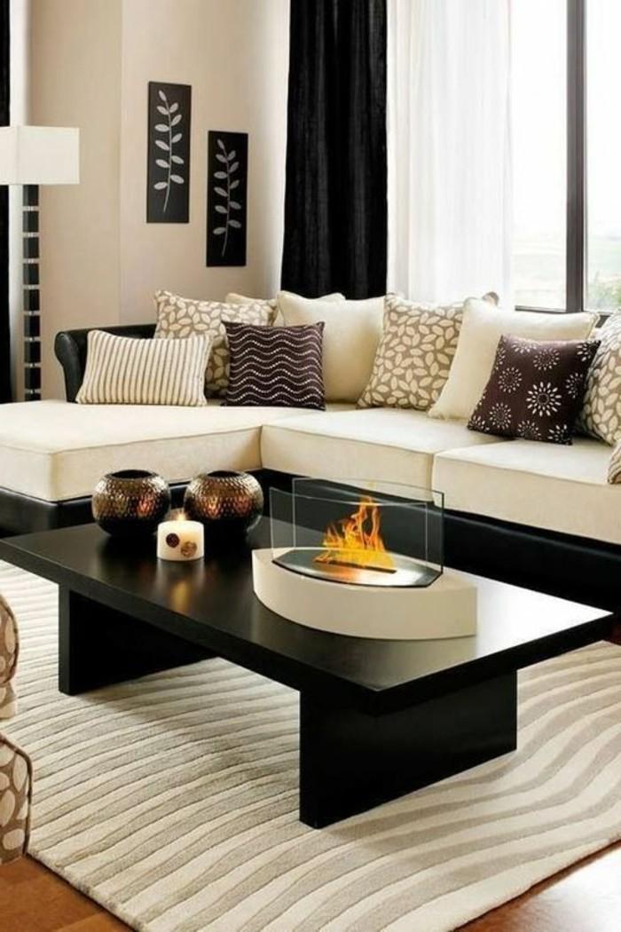 tapis-modernes-un-hall-elegant-table-noir-canape