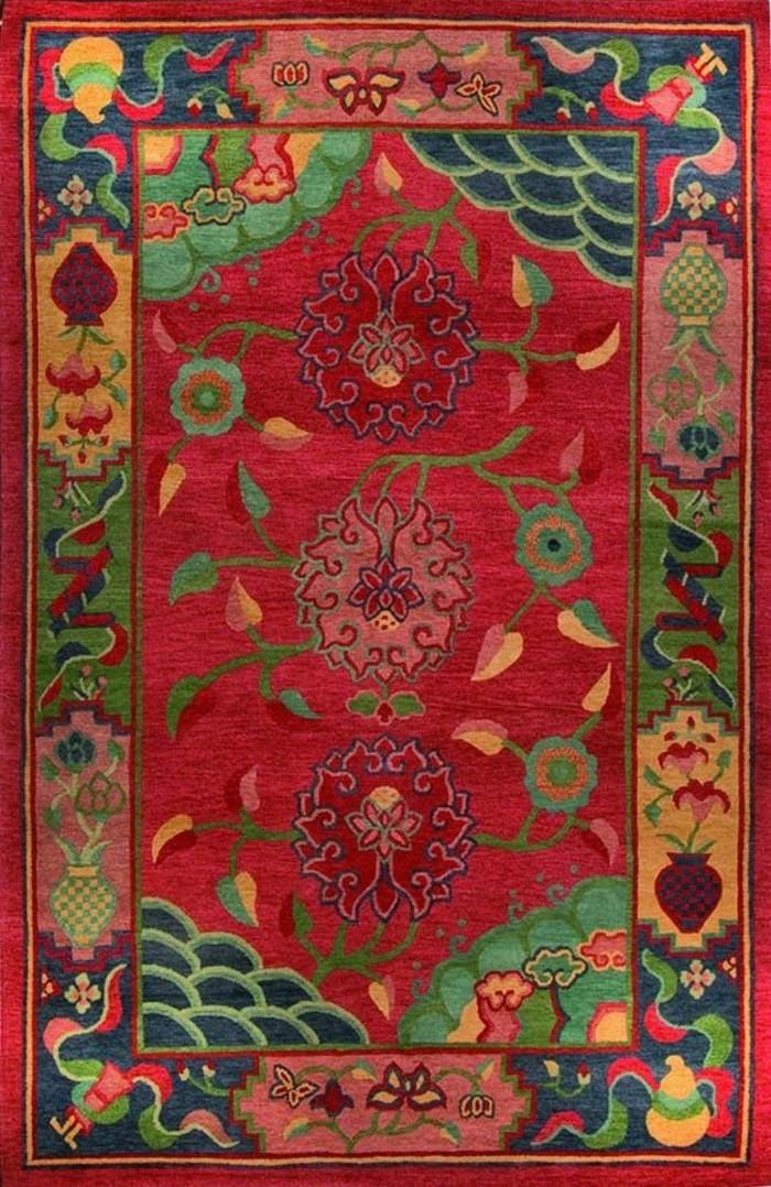 tapis-modernes-un-tapis-classique-de-tibet