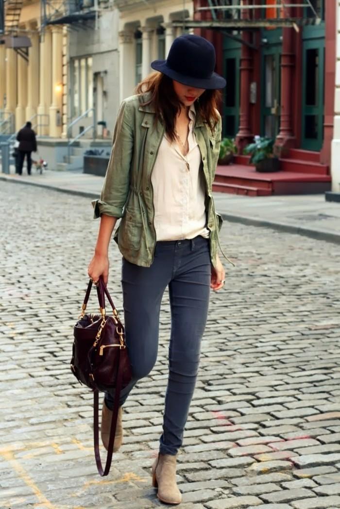 tendance-chaussure-bottines-noires-femme-femme-belle-tenue-casuel-chic