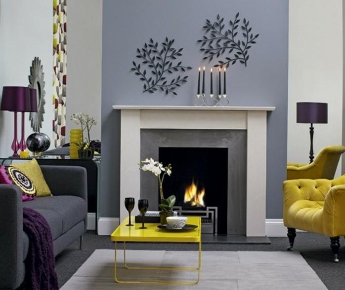 tres-elegante-suggestion-deco-salon-gris-petites-touches-de-couelur-jaune-pour-un-inteiruer-ravissant