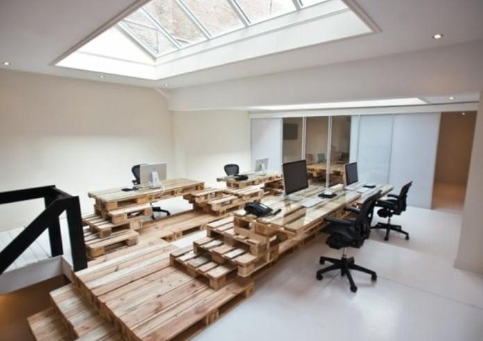Bureau en palette - modèles DIY et tutoriel pour le ...
