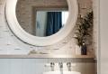 La vasque ronde en 45 photos – choisissez la vôtre!