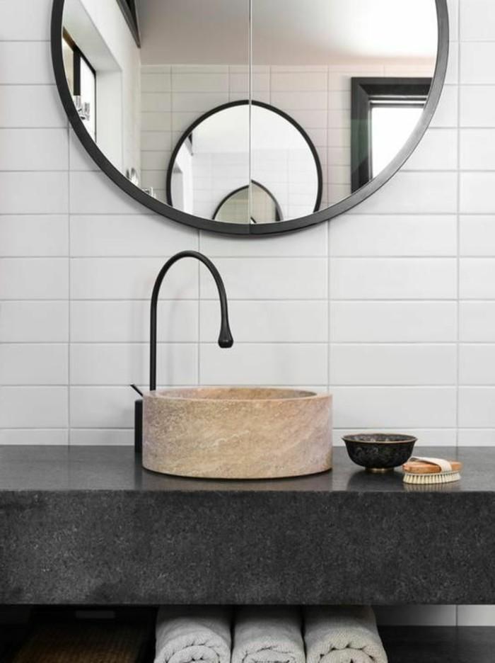 vasque-ronde-comptoir-noir-et-miroir-rond