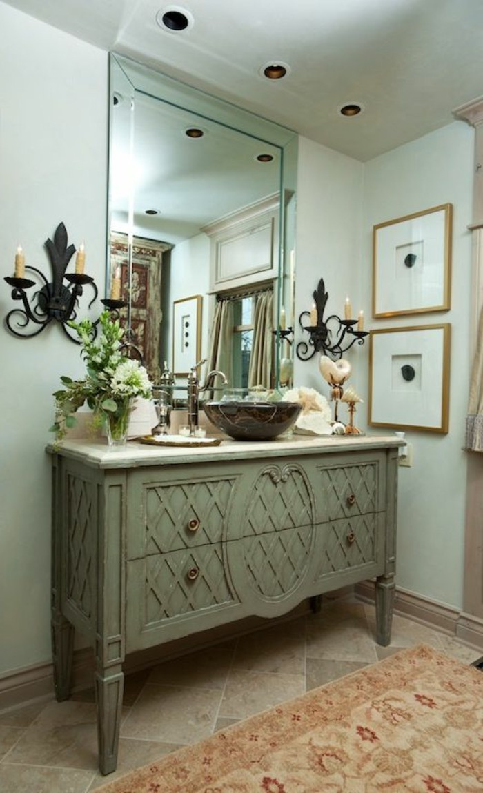 vasque-ronde-salle-de-bain-vintage-chic-avec-une-vasque-ronde