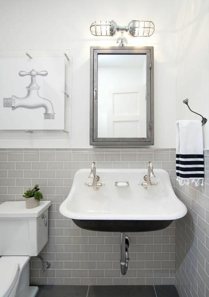 vasque-suspendue-carrelage-mero-gris-miroir-encadre