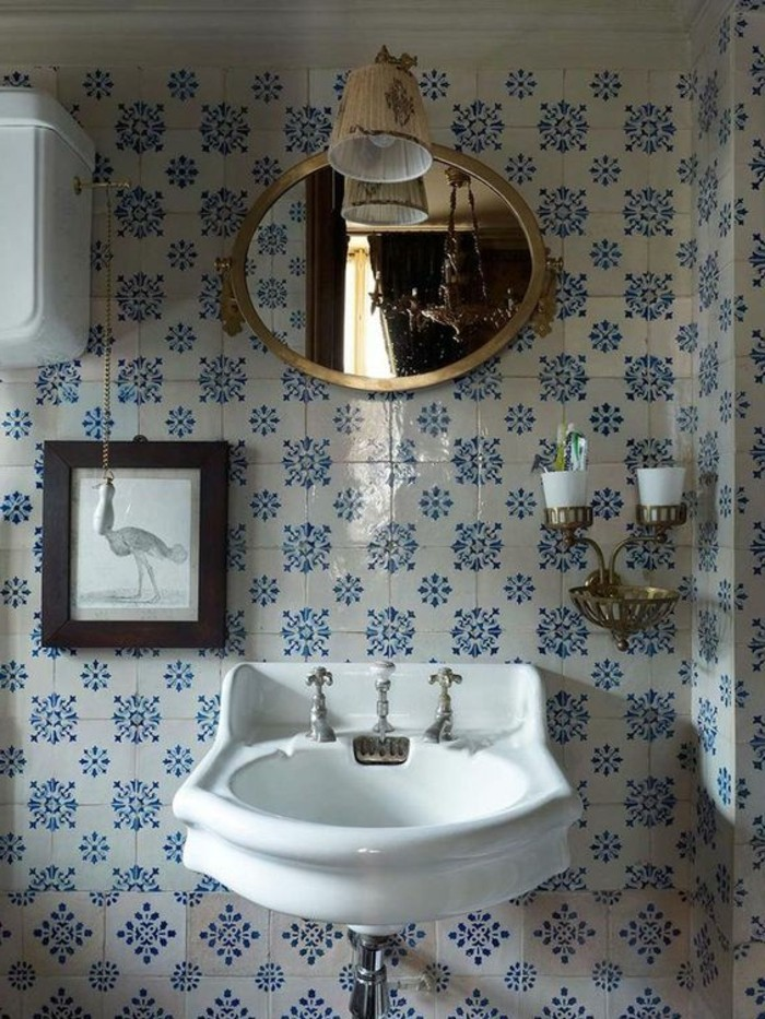 vasque-suspendue-design-vintage-carrelage-ancien