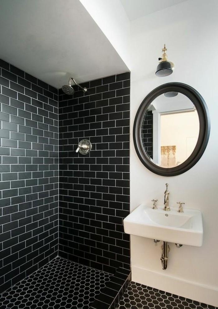 vasque-suspendue-miroir-noir-carrelage-metro-salle-de-bain-moderne