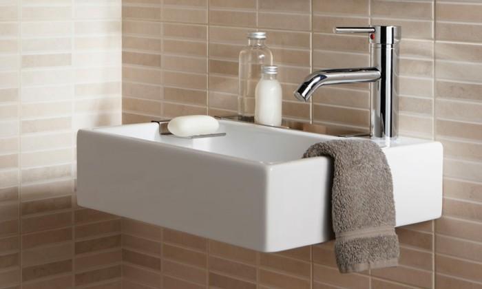 55 id es pratiques pour votre vasque suspendue. Black Bedroom Furniture Sets. Home Design Ideas