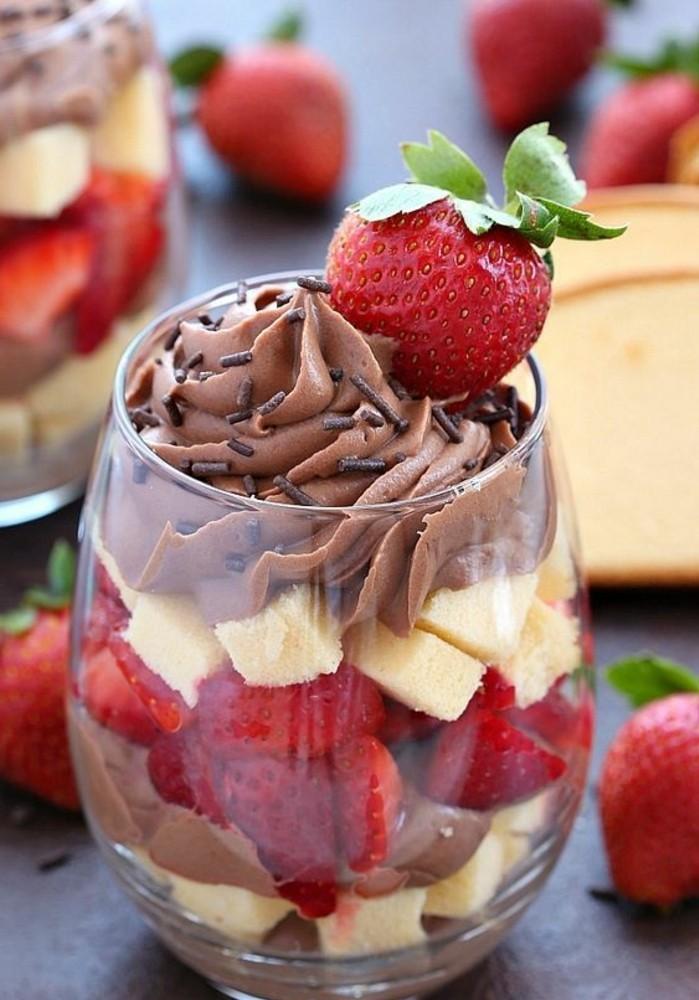 Idée De Dessert Facile.La Verrine Sucrée Le Dessert Parfait Pour Vos Après Midis