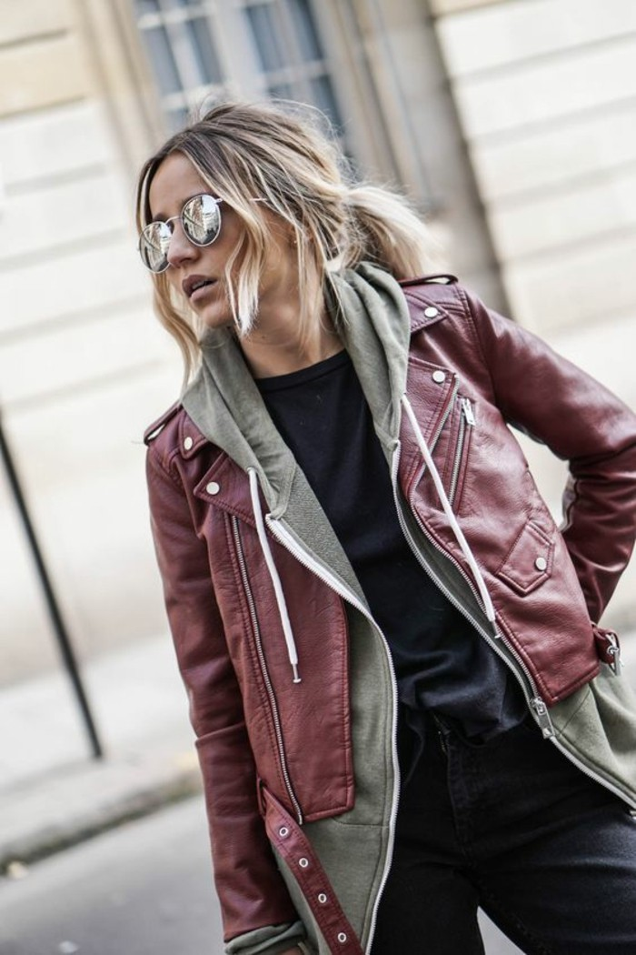 veste-en-cuir-femme-tenue-automne-tendance-cool-idee-tenue