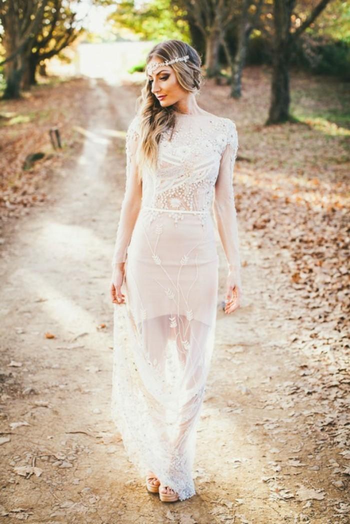 voir-la-robe-de-mariee-romantique-boheme-tendance