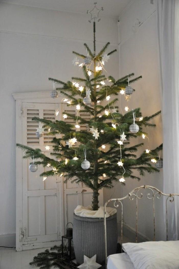 Guirlande avec grandes boules électriques – déco Noël hipster