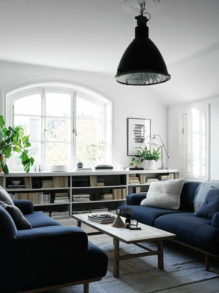 etagere-basse-salon-moderne-lampe-style-industriel
