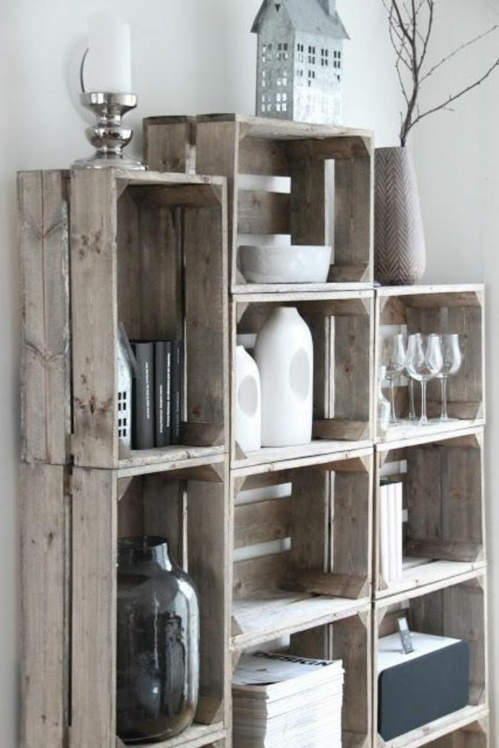 etagere-en-palette-de-bois-maison-decorative-vase-bougeoir