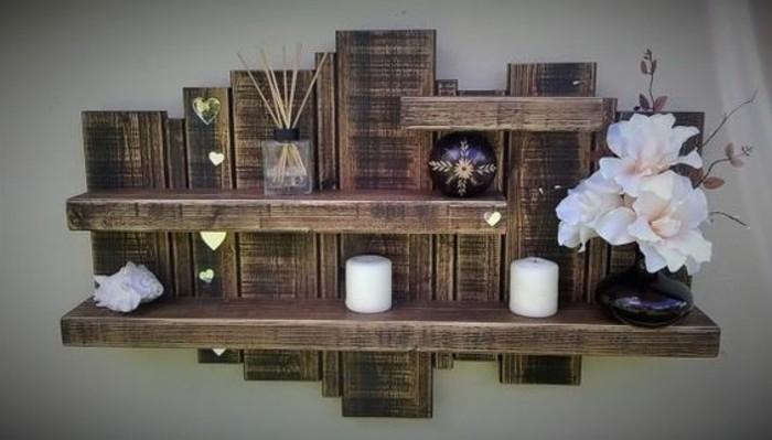 etagere-originale-fleurs-artificielles-bougies