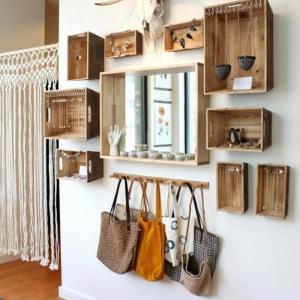 L'étagère en palette de bois - une bouffée d'inspiration rustique